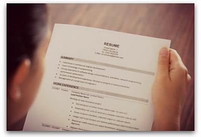 IT resume recruiter
