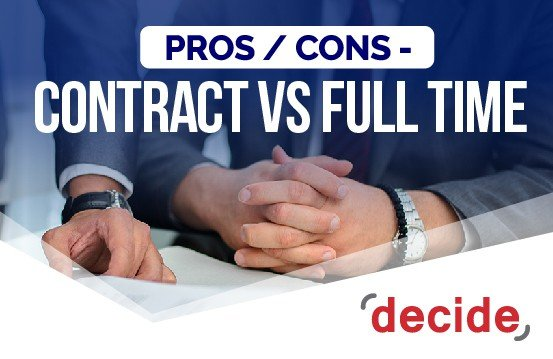 contract vs fulltime