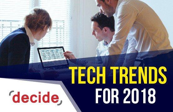 tech trends 2018