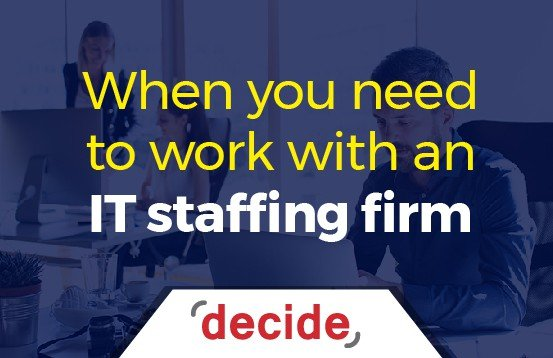 work with IT staffing Firm