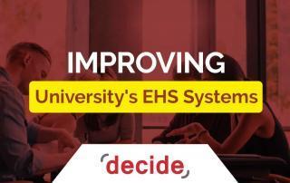 Improving University EHS