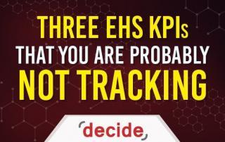 EHS KPIs Not Tracking