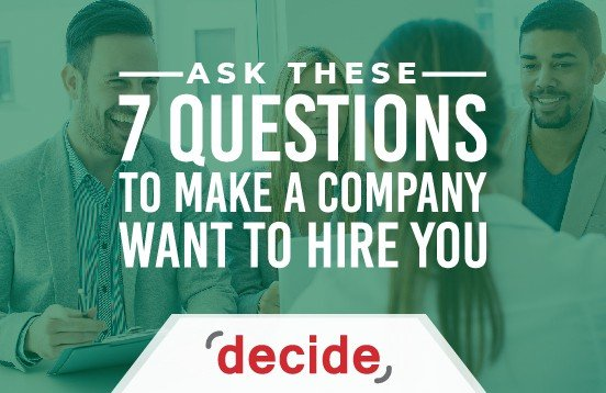 7 Questions Company Want Hire