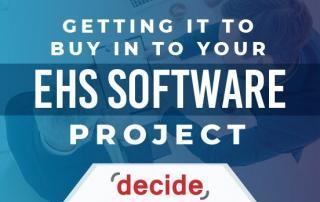 Get IT buy into EHS Software