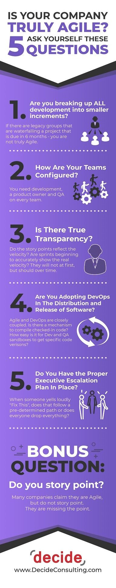 INFOGRAPHC Is Your Company Truly Agile