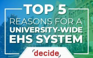 Top 5 Reasons University EHS System