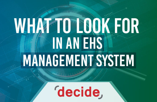 What Look for EHS System