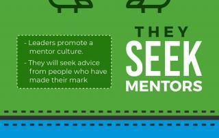infographic Ways to Identify a Tech Leader
