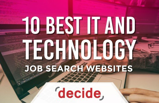 10 Best IT tech Job Search Sites