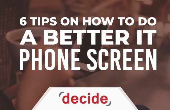 Better IT Phone screen