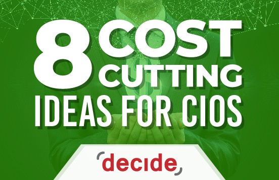Cost Cutting ideas CIOs