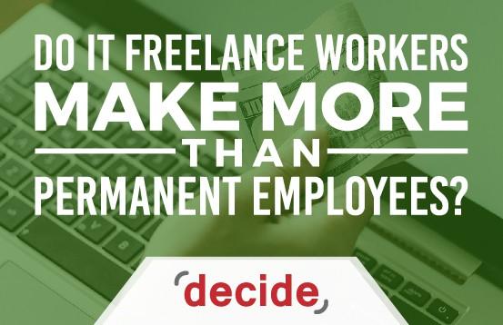 Do IT Freelance male more money permanent