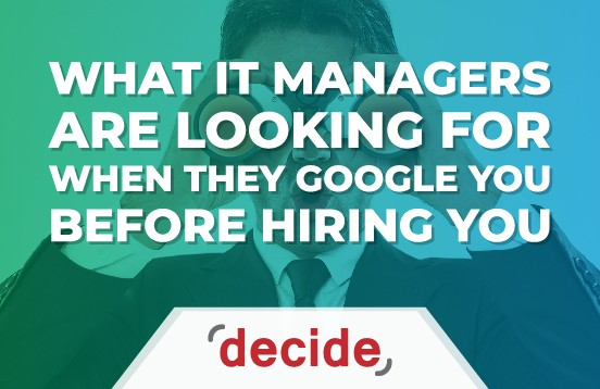 Google before hiring