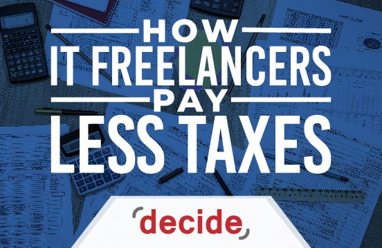 IT freelancers pay less taxes