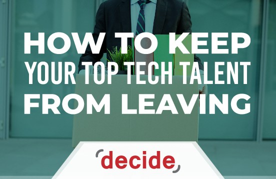 Keep top tech talent from leaving
