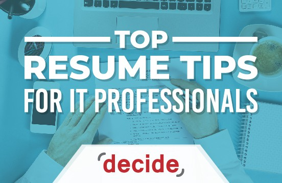 Resume Tips IT Professional