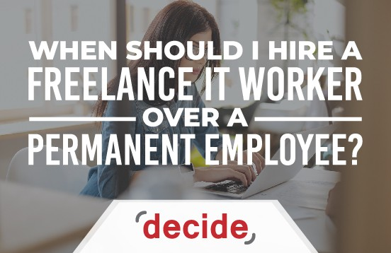 hire IT freelancer or permanent employee