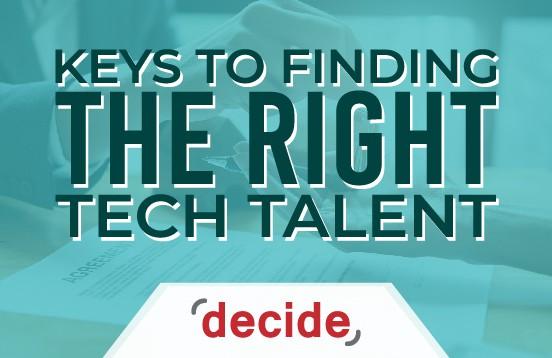keys finding right tech talent