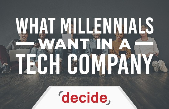 what millennials want in a tech company