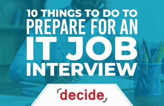 prepare it job interview