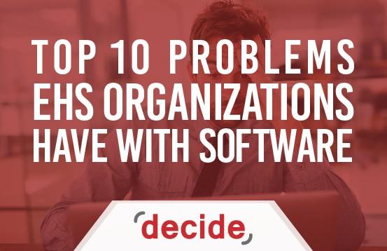 top 10 EHS_Software Problems