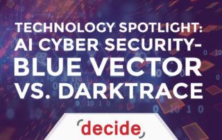 AI Cyber Security Blue Vector Darktrace