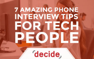 Interview Tips For Tech people