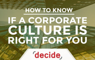 Is A corporate Culture Right For You