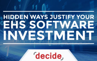 Justify EHS Software Investment