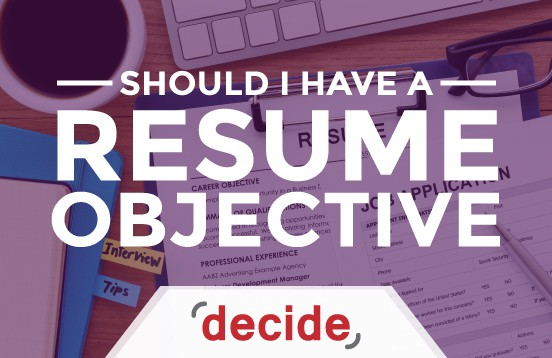 Resume objective