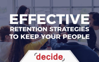 Effective Retention Strategies