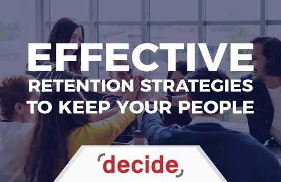 Effective Retention Strategies