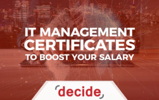 IT Management Certificates