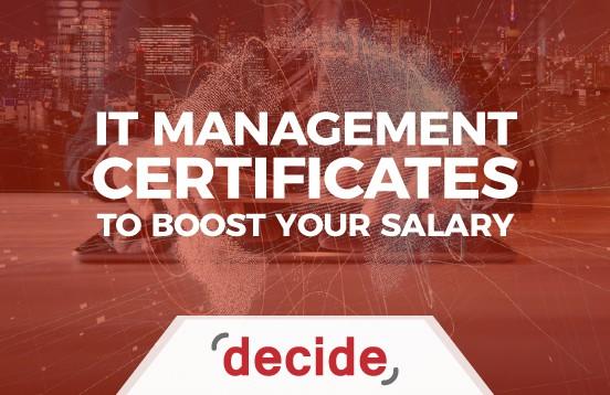 IT Management Certificates
