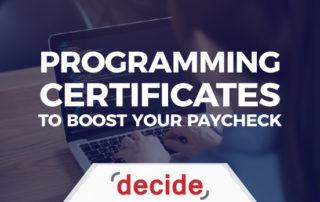 Programming Certificates