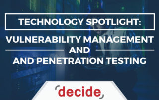 Technology Spotlight Vulnerability Management and Penetration Testing