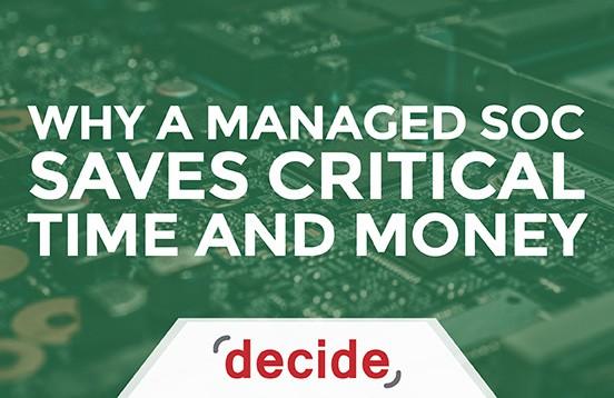 Managed SOC Saves Time Money