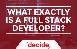 What exactly is a fullstack developer
