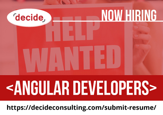 decide consulting hiring Angular Dvelopers