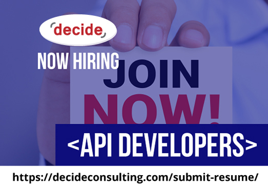 decide consulting hiring API Dvelopers