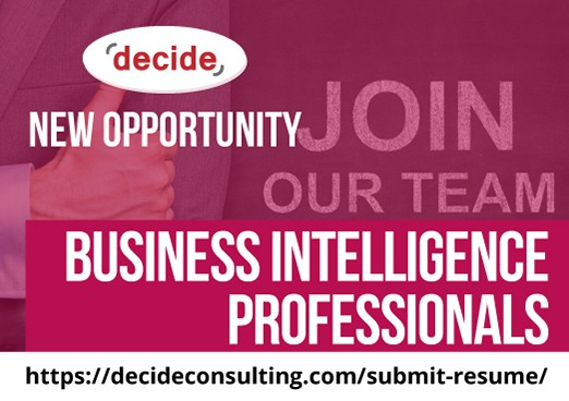Decide Consulting Hiring Business Intelligence