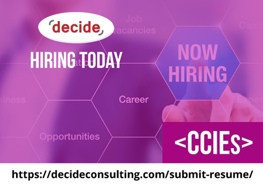 Decide Consulting Hiring CCIE