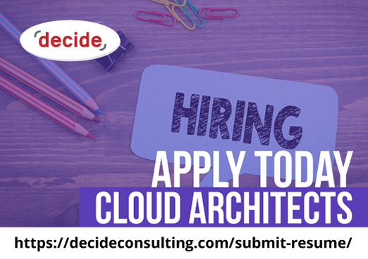 decide consulting hiring cloud architects