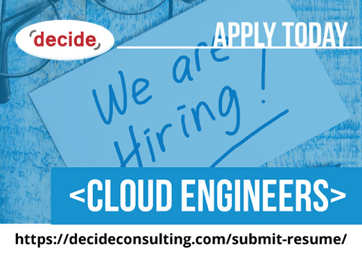 decide consulting hiring cloud engineers