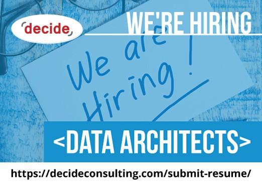 Were Hiring Data Architects