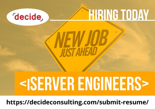 Decide Consulting Hiring iServer