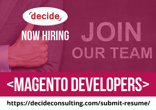 decide consulting hiring Magento Developers