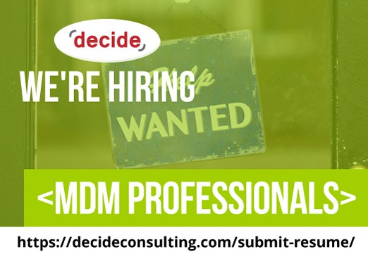 Were Hiring MDM professionals