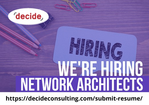 Were Hiring Network Architects