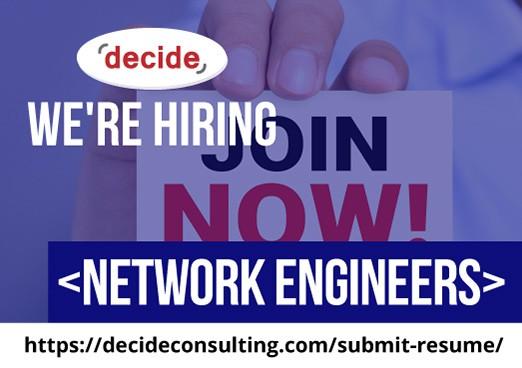 Were Hiring Network Engineers